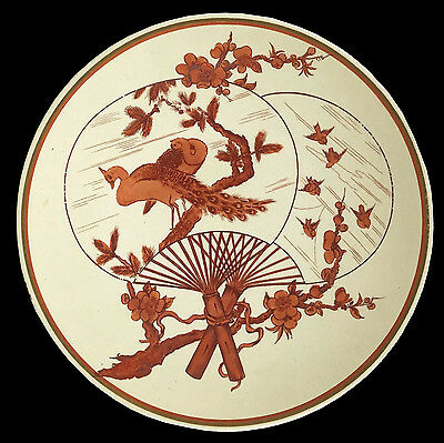 E.f.bodley Aesthetic Movement Transfer Ware Japanese Pattern  C.1880