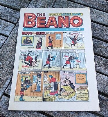 VINTAGE THE BEANO COMIC 4th March 1972 Issue no. 1546