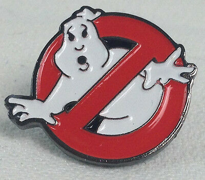 GHOSTBUSTERS - 1984 Movie Animated Logo - UK Imported Enamel Pin