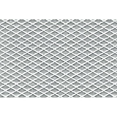 JTT Scenery Products 1:250 Z-Scale Tread Plate Plastic Pattern Sheet, 2/pk 97454