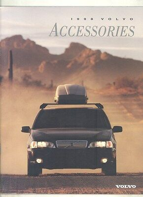 1998 Volvo Accessories & Gift Shop Brochure US Canada my7290