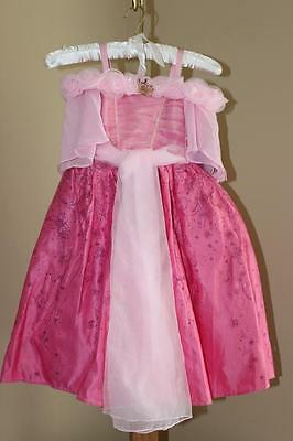 Disney Store Princess Aurora Sleeping Beauty Deluxe Costume Dress-Up Size 3