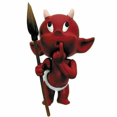 HOT STUFF: Little Devil Perplexed 3D Sculpted PVC PIN - Harvey Comics Licensed