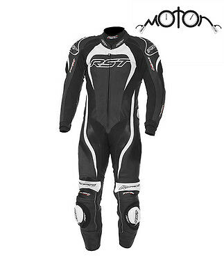 RST Tractech Evo 2 One Piece Motorcycle Race Suit - White