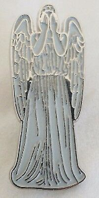 WEEPING ANGEL - Large Enamel Pin from the Doctor Who TV Series - Don't Blink....