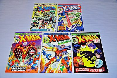 X-Men 90 91 92 93 96 Bronze Age Lot Capital City Collection