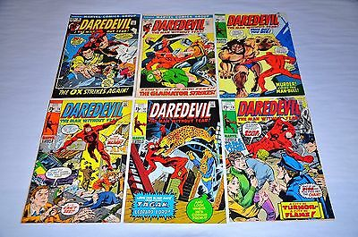 Daredevil 70 72 74 79 85 86 90 94 95 97 99 Bronze Lot Capital City Collection