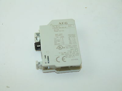 AEG HS 7K.10 Auxiliary Contact 10a NEW