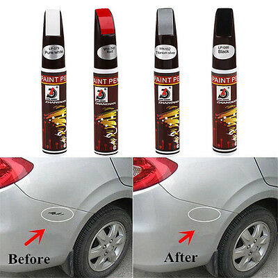 BLACK Paint Pen Auto Car Coat Touch Up Scratch Clear Repair Remover Remove Tool