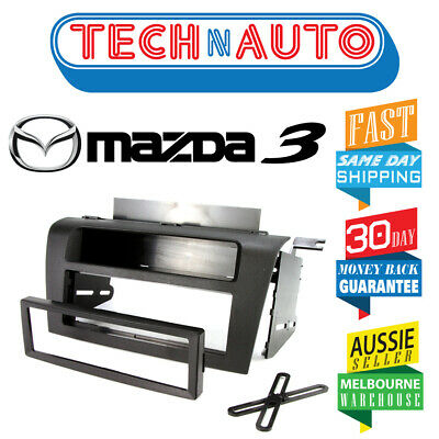 Mazda 3 (Axela) Bk 2004 - 2009 Single Din Factory Color Facia Fascia