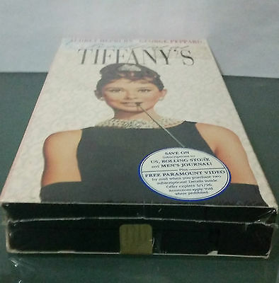 Breakfast at Tiffanys (VHS,1961) Never Opened Audrey Hepburn