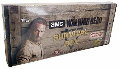 2016 Topps The Walking Dead Survival Box Hobby Brand New Factory Sealed