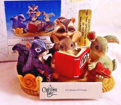 Charming Tails Figurine  A Collection of Friends SIGNED