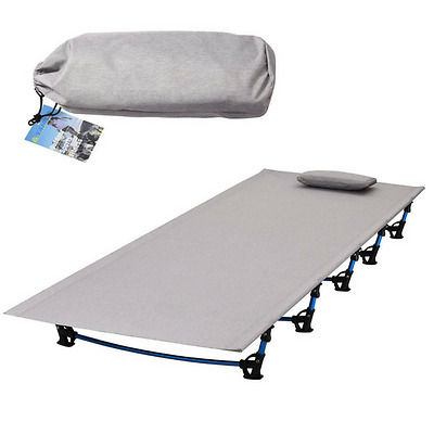 Camping Folding Bed Ultralight Portable Cot Travel Outdoor Hiking Fishing
