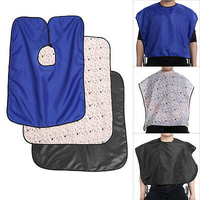 Waterproof Hairdressing Hairdresser Cape Hair Cutting Cloth Barber Gown Apron AF