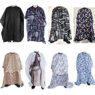 21 Style Salon Colorful Waterproof Hair Cut Hairdressing Barbers Cape Gown Cloth