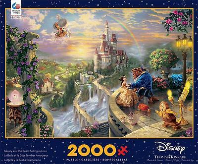 Ceaco 2000 Puzzle Beauty And The Beast Thomas Kinkade #3501-2