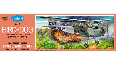 Cessna Bird Dog 1/24 Balsa Model Kit