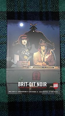 **SIGNED/DATED** BRIT - CIT NOIR (From the pages of JUDGE DREDD)