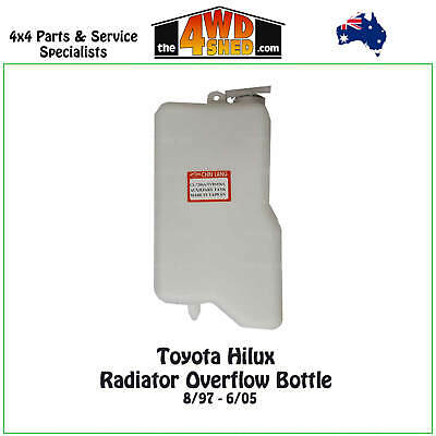 Radiator Overflow Bottle Expansion Tank fit Toyota Hilux 1997 - 2005