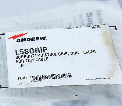 """L5SGRIP Support Hoisting Grip for 7/8"""" Heliax Coaxial Cable, Andrew / Commscope"""
