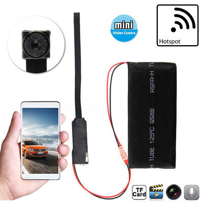 Hotspot P2P Wireless IP Hidden Nanny CAM DIY Module Security Camera Mini DVR DV