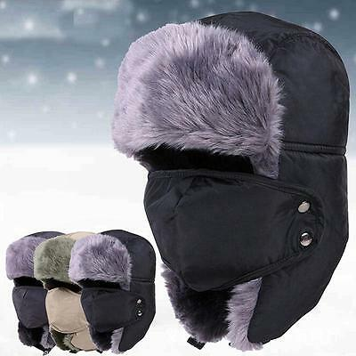Motorcycle Thermal Fleece Balaclava Warm Unique Ski Full Face Mask Cap Cover Hat