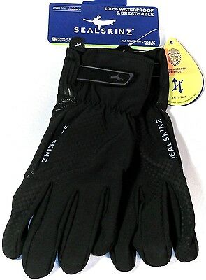 Sealskinz All Weather Cycle XP Gloves Black Size Small  5055754406351  S NEW