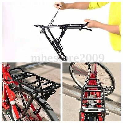 Bicycle Mountain Bike Luggage Seat Post Pannier Carrier DISC BRAKE Rear Rack New