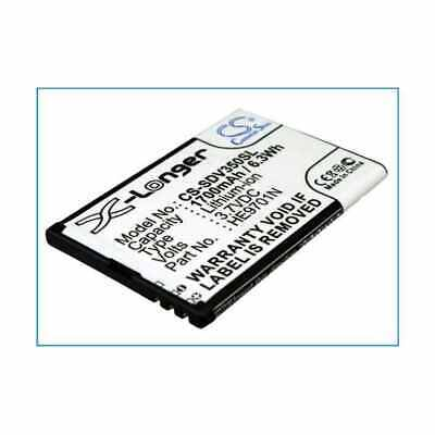 Replacement Battery For SONOCADDIE HE9701N