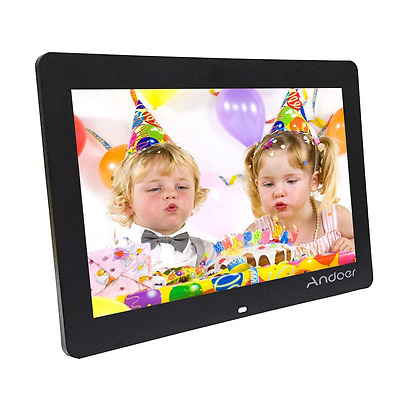 Andoer 14-inch HD LED Digital Picture Frame Wide Screen Digital Album High Resol
