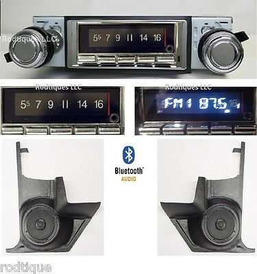 1965 Cutlass, F85 & 442 Bluetooth Radio Stereo + Kick Panels with AC 740