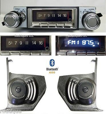 1966 Cutlass, F85 & 442 Bluetooth Radio Stereo Kick Panels No AC 740