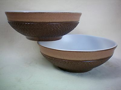 "Denby Cotswold Set of 2 x Fruit Salad Bowl Dish 5.5"" 14cm dia Excellent (A)"