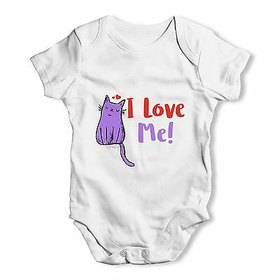 Twisted Envy I Love Me Baby Unisex Funny Baby Grow Bodysuit