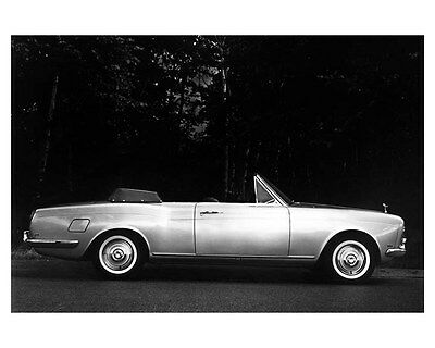 1966 Rolls Royce Silver Shadow Convertible ORIGINAL Factory Photo oub4806
