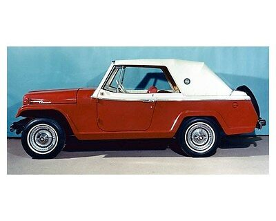 1964 Jeep Jeepster Convertible Prototype ORIGINAL Factory Photo oub4818