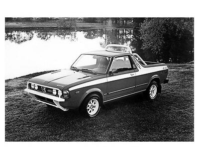 1981 Subaru GL ORIGINAL Factory Photo oub4874