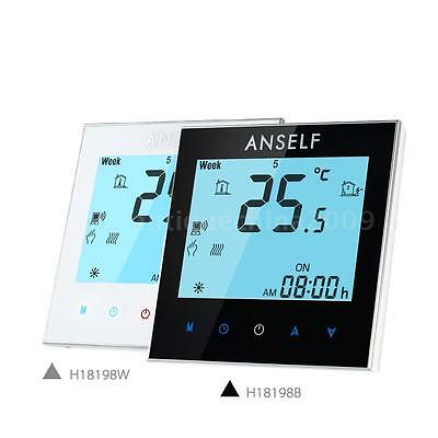 3A Water Heating WIFI Thermostat Touchscreen LCD Display Temperature Controller