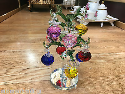 FAUX CRYSTALS FRUIT TREE LOVELY GIFT  Decorative Item