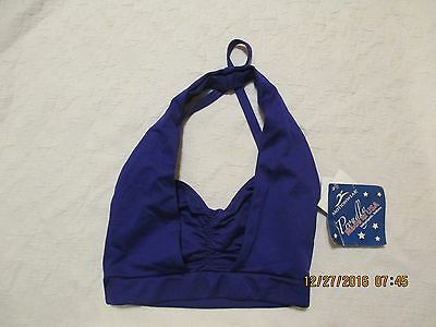 MOTIONWEAR new with tags purple dance top size petite adult STYLE 3078
