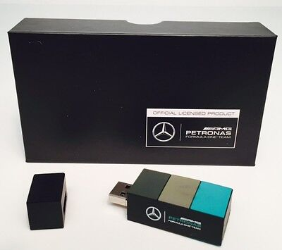 Mercedes AMG Petronas Formula One USB Stick 8 GB NEU