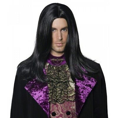 Gothic Count Wig Costume Accessory Adult Halloween