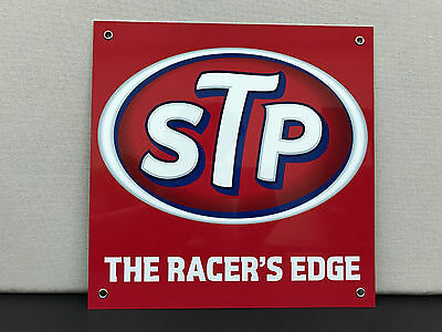 STP racing  racing vintage advertising sign garage man cave