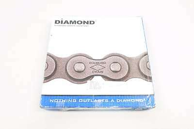 New Diamond X-1233-010 3/4 In 10Ft Single Strand Riveted Roller Chain D558387