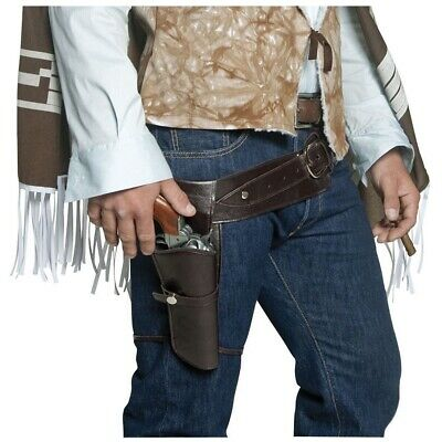 Authentic Western High Plains Wandering Gun Belt and Holster Costume Accessory