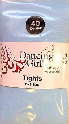 Dancing Girl One Size Semi-Opaque 40 Denier Tights in Various Colours