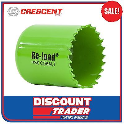 Crescent Re-Load Holesaw Individual Cobalt HSS 51mm - CRLHS51