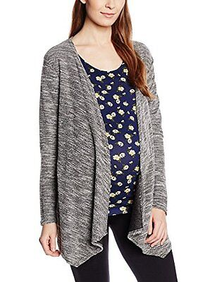 Grey (Mid Grey) (TG. IT 42 (DE 36)) New Look Maternity Snickerdoodle Waterfall,