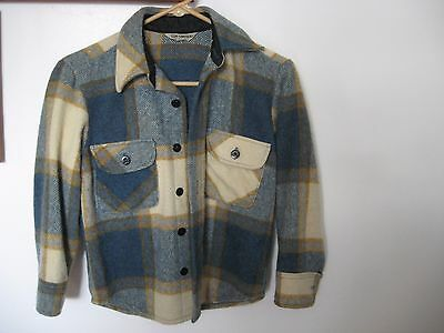 Vintage 1950s Tom Sawyer Outerwear Wool Coat Jacket, 'for Real Boys Size Small?